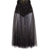 black skirt - Suknje -