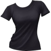 black t shirt - Koszulki - krótkie -