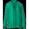 Long sleeves shirts Green - Koszule - długie -