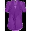 Blouse Shirts Purple - Shirts -