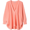 Long sleeves t-shirts Pink - 長袖Tシャツ -