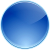 Blue Round Fill - Objectos -