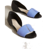 blue and black - Balerinas -