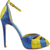 blue and yellow shoes - Classic shoes & Pumps -