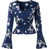 blue blouse - Long sleeves shirts -