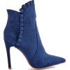 blue booties - Boots -
