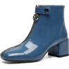 blue boots1 - Boots -