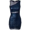 blue dress - Dresses -