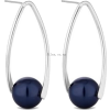 blue earrings - Earrings -