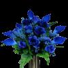 blue flowers - Plantas -