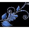 blue plant illustration - Ilustracije -
