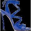blue sandals - 凉鞋 -