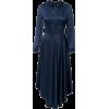 blue silk dress - Haljine -