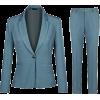 blue suit2 - Suits -