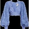 blusa celeste - 长袖衫/女式衬衫 -
