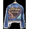 boho embroidered denim jacket - Jacket - coats -