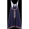 boho mini dress - Vestidos -