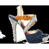 boho platforms - Туфли на платформе -