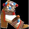 boho sandals - Chancletas -