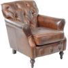 bondslifestyle Leather Button Back Chair - Mobília -