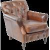 bondslifestyle Leather Button Back Chair - インテリア -