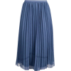 boohoo Chiffon Pleated Midi Skirt - Skirts - £20.00  ~ $26.32