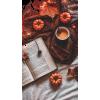 book pumpkin leaves autumn photo - Uncategorized -
