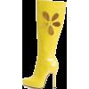 Boots Yellow - Čizme -