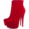 Boots Red - Boots -