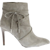 bow embellished booties - Boots -