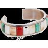 bracelet with cobbled coral, turquoise a - Bracelets - $1,800.00
