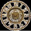 brass clock - Items -