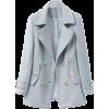 breasted woolen coat - Jakne i kaputi -