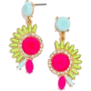 bright earrings - Aretes -
