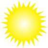 bright summer sun png 2 - Nature -