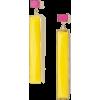 bright yellow earrings - Earrings -