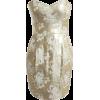 Brocade Dress By Girlzinha - Kleider -