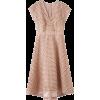broderie dress - Haljine -