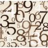 Brojevi Background Brown - Pozadine -