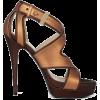 bronze shoes - Sandálias -