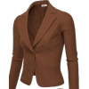 brown blazer - Trajes -