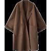 brown coat - Jaquetas e casacos -