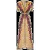 brown cocktail dress - 连衣裙 -