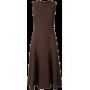 brown dress - ワンピース・ドレス -