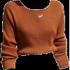brown long sleeve - Shirts -