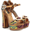 brown shoes - 厚底鞋 -