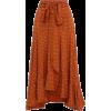 brown skirt - Saias -