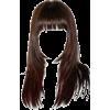 brunette  - Fryzury -