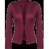 burgundy blazer - Trajes -