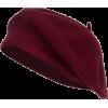 burgundy red beret - Šeširi -